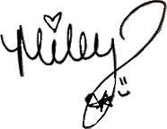 Firma de Miley Cyrus by Caarotutoriales