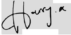 Firma de Harry Styles png by Caarotutoriales