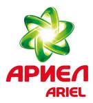 Ariel logo Cyrillic version