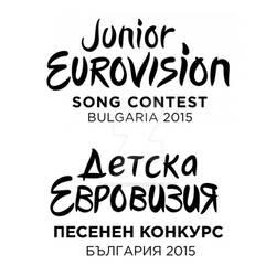 Junior Eurovision logo Cyrillic version by VariantArt123