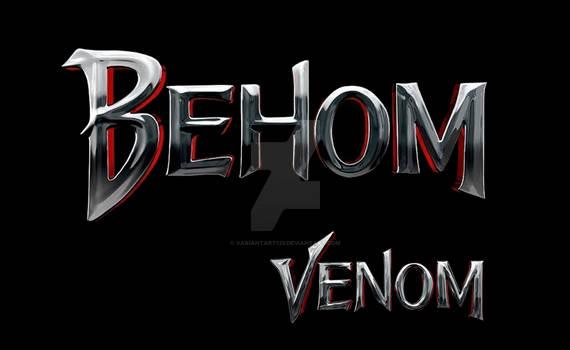 Venom (2018 film) logo Cyrillic version