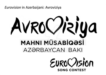Eurovision logo Azerbaijani version by VariantArt123