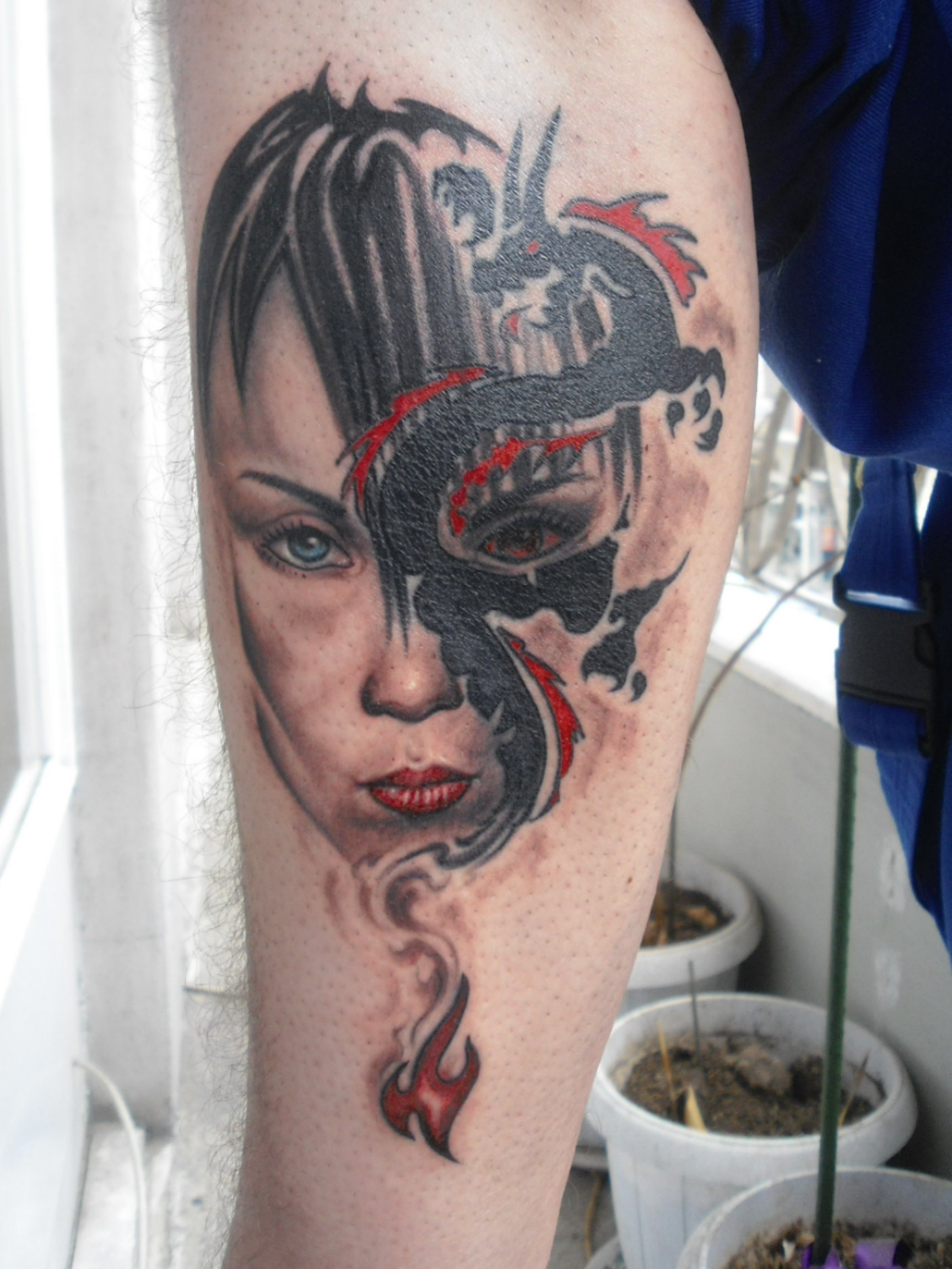 Real Tattoo: DRAGON GIRL TATTOO Real By Andreas-m3 On DeviantArt