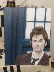 The Tenth Doctor (Painting)