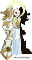 AQW armor of the halodragon