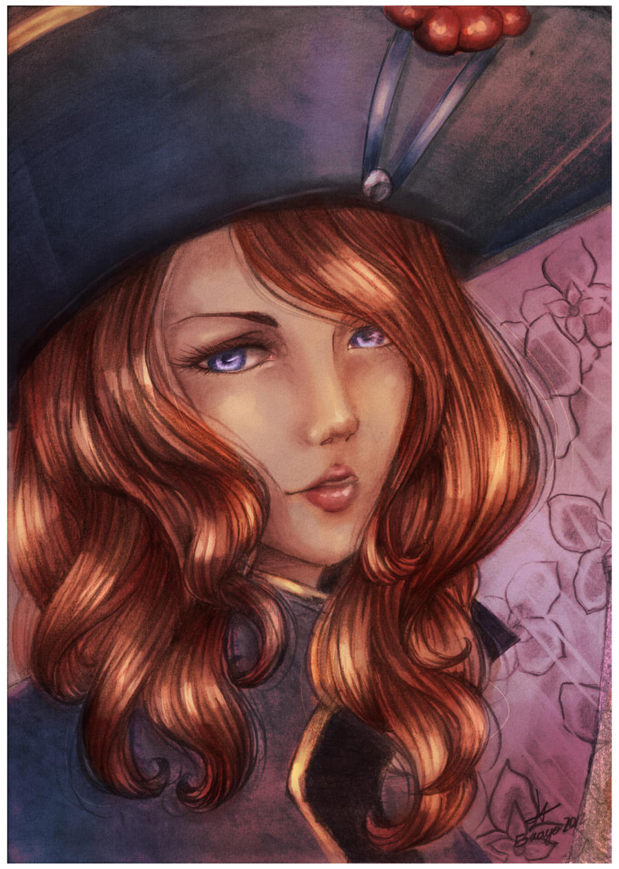 Miss Fortune Portrait by Cirath