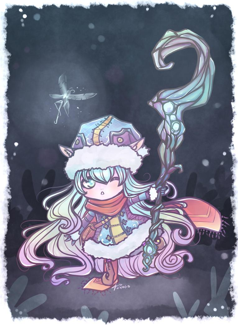 long scarf by Cirath