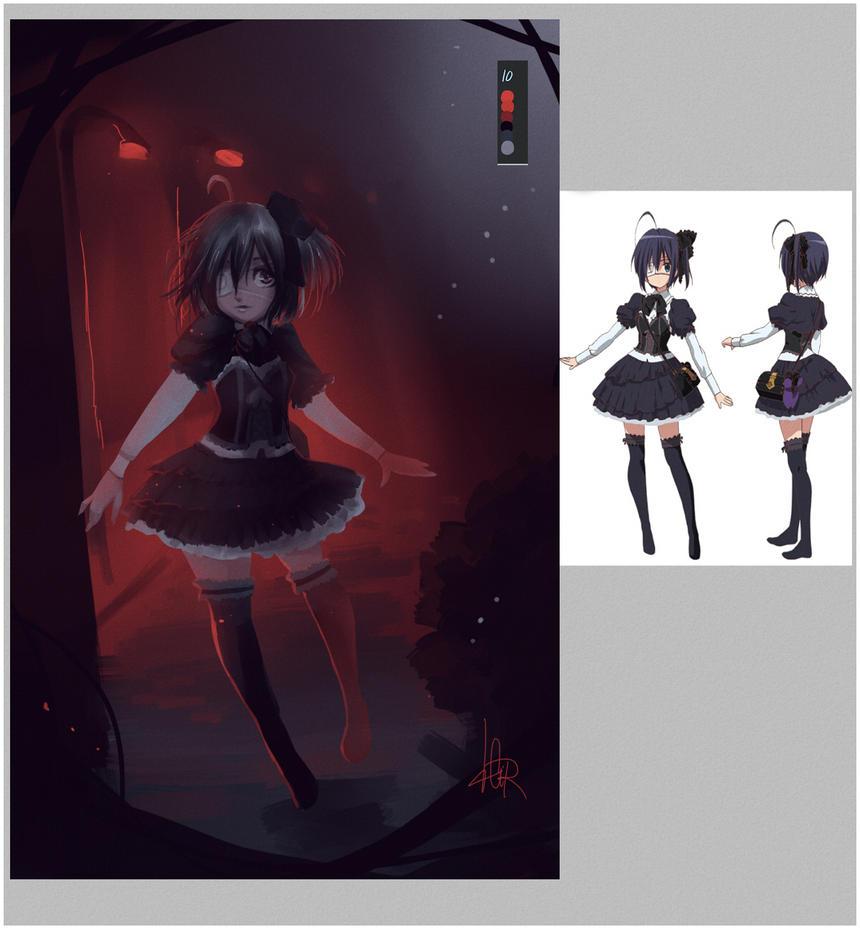 Palette Challenge:Rikka by Cirath