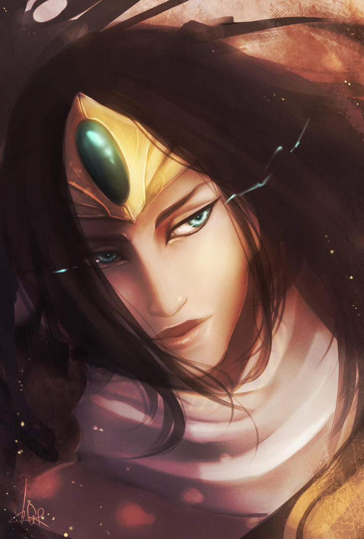 Sivir Portrait by Cirath