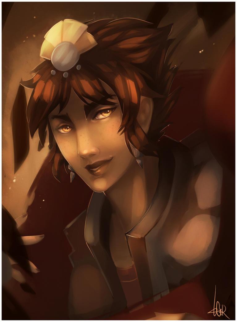 Portrait: Taliyah by Cirath