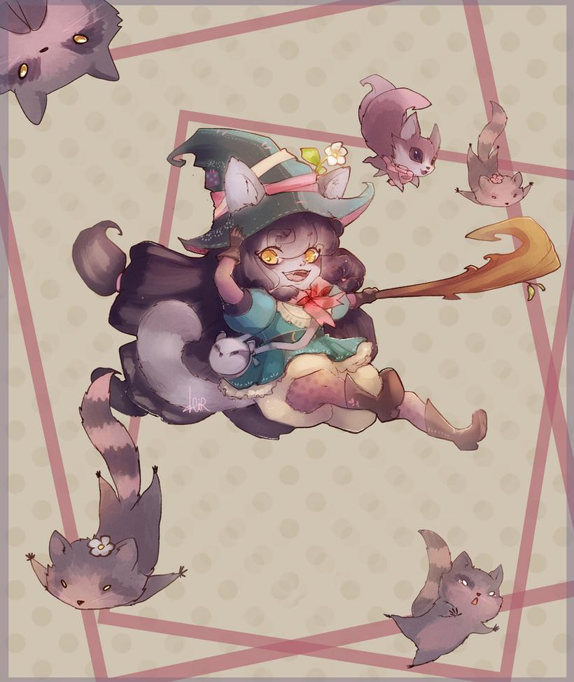 Lulu Purpleccoon by Cirath