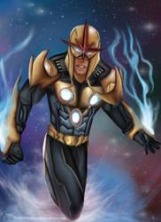 Nova Centurion Prime Richard Rider by Dreaminhighzaxx