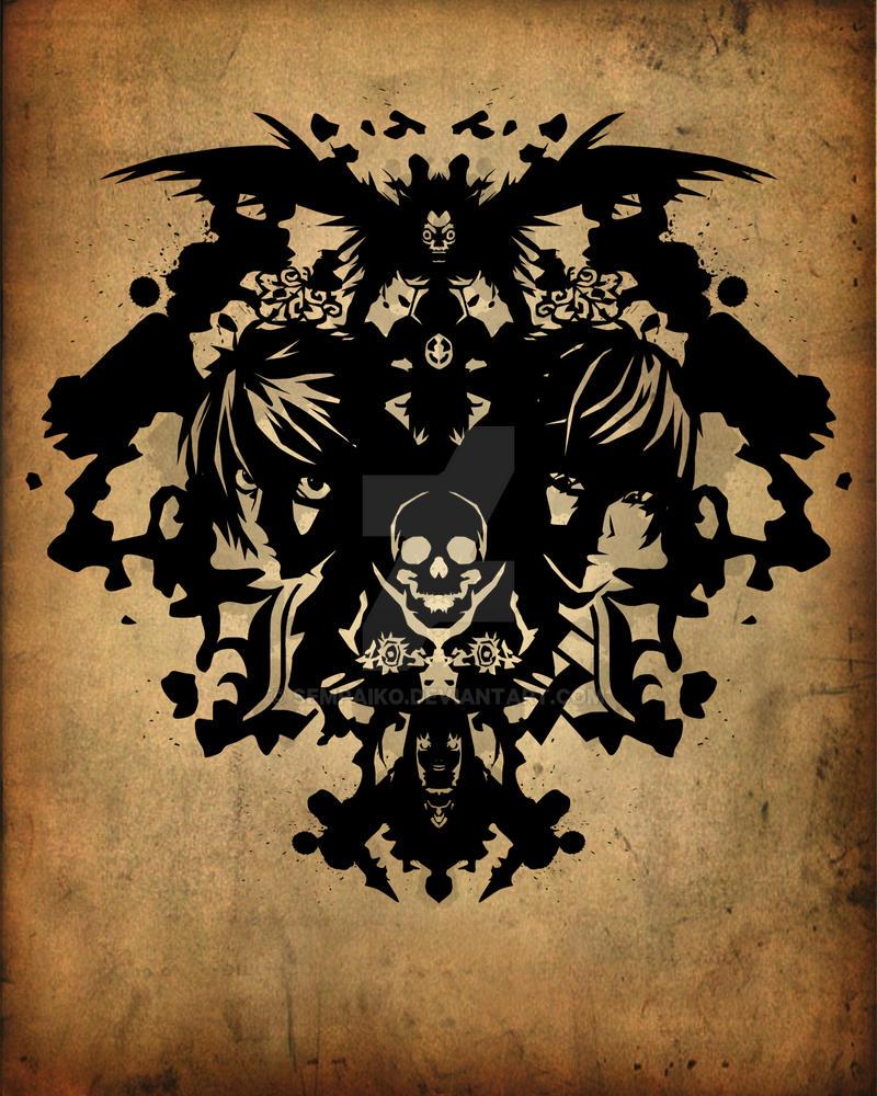 Deathnote Rorschach by Sempaiko