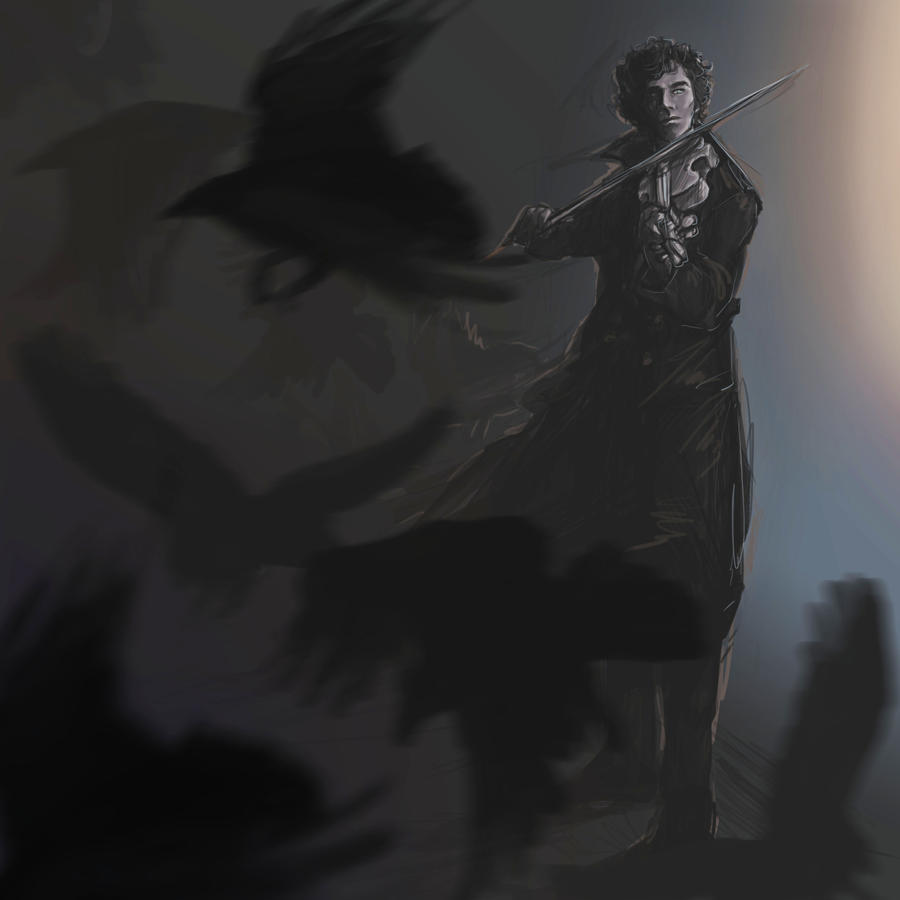 Sherlock - Ghost by Sempaiko