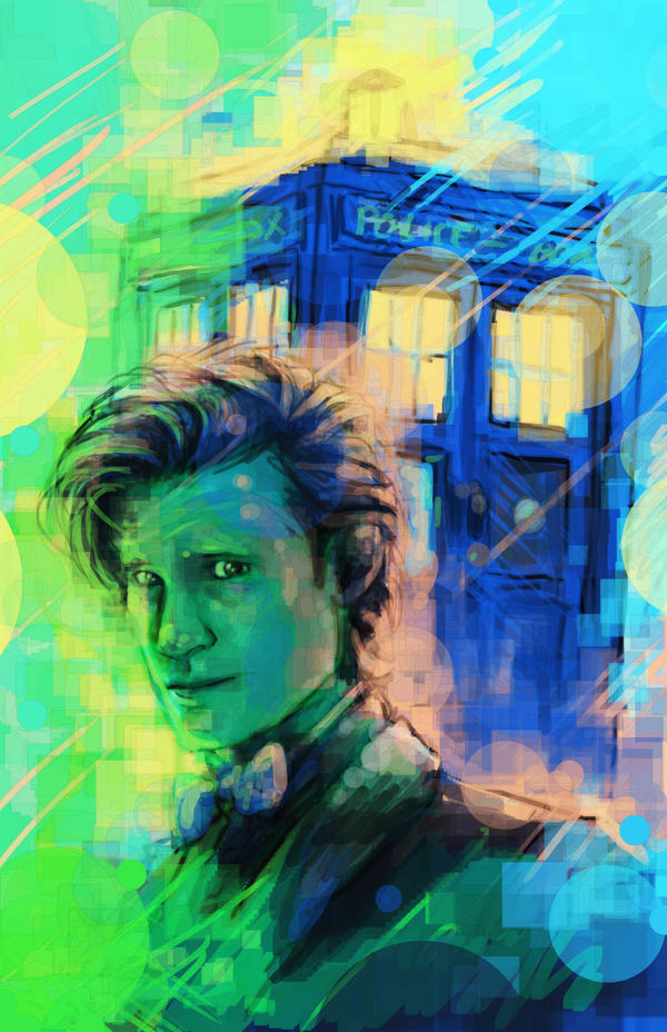 11th doctor by sempaiko on deviantart