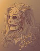 Thorny Beauty Blah Blah by Sempaiko