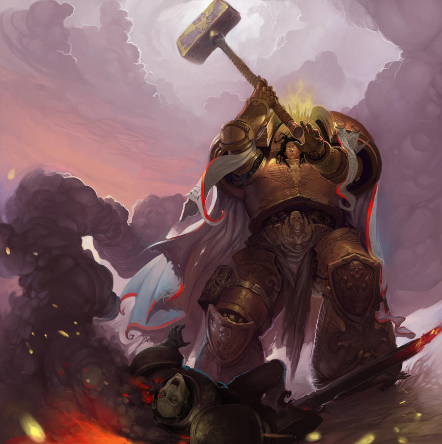 dorn_and__defeated_heretic_by_ancientfea