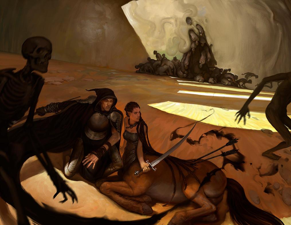Battle necromancy by ancientfear