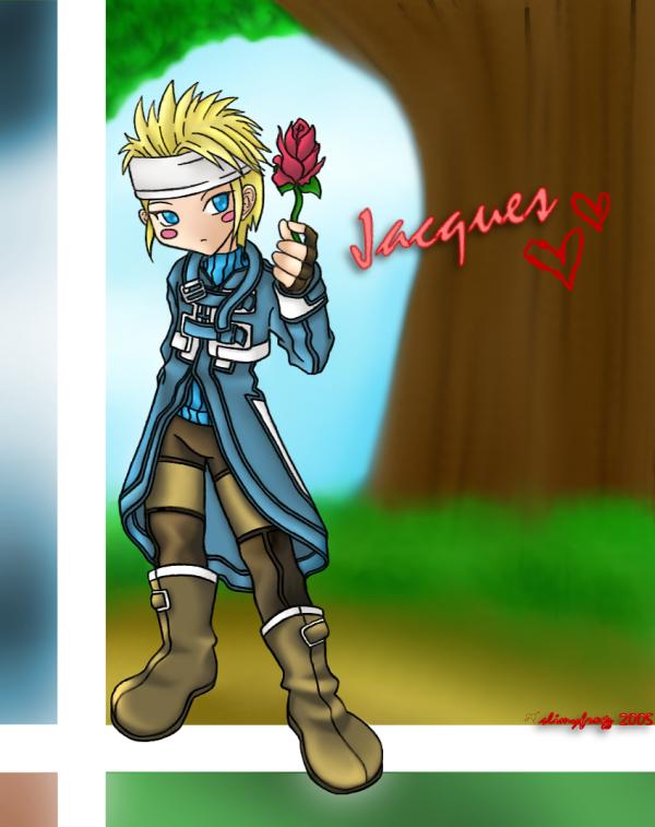 Suikoden III : Jack of Hearts by slimyfrogz