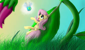Fluttershy's Dream by Bronyontheway