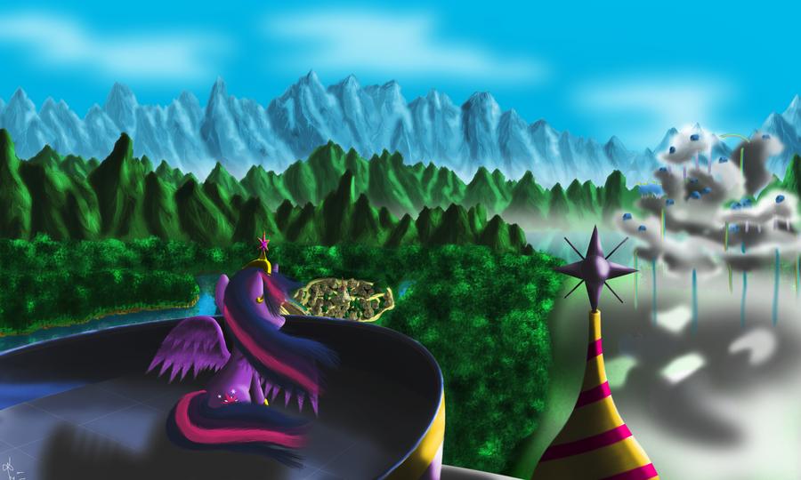 A Kingdom for a Princess by Bronyontheway