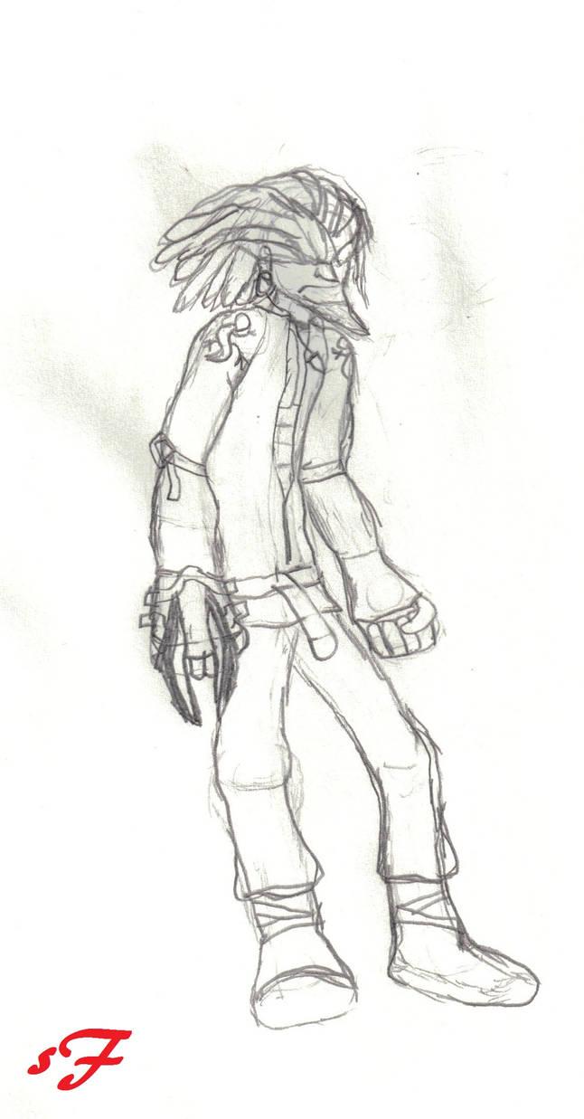 Sketchy Amarant