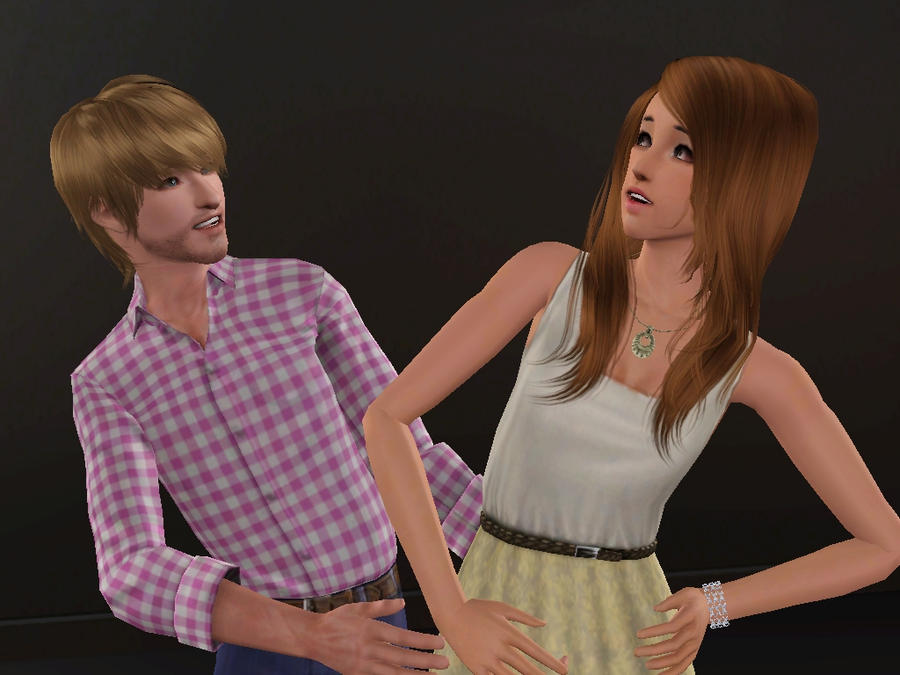 Pewdiepie and Cutiepie 2- Sims 3 by missxmello