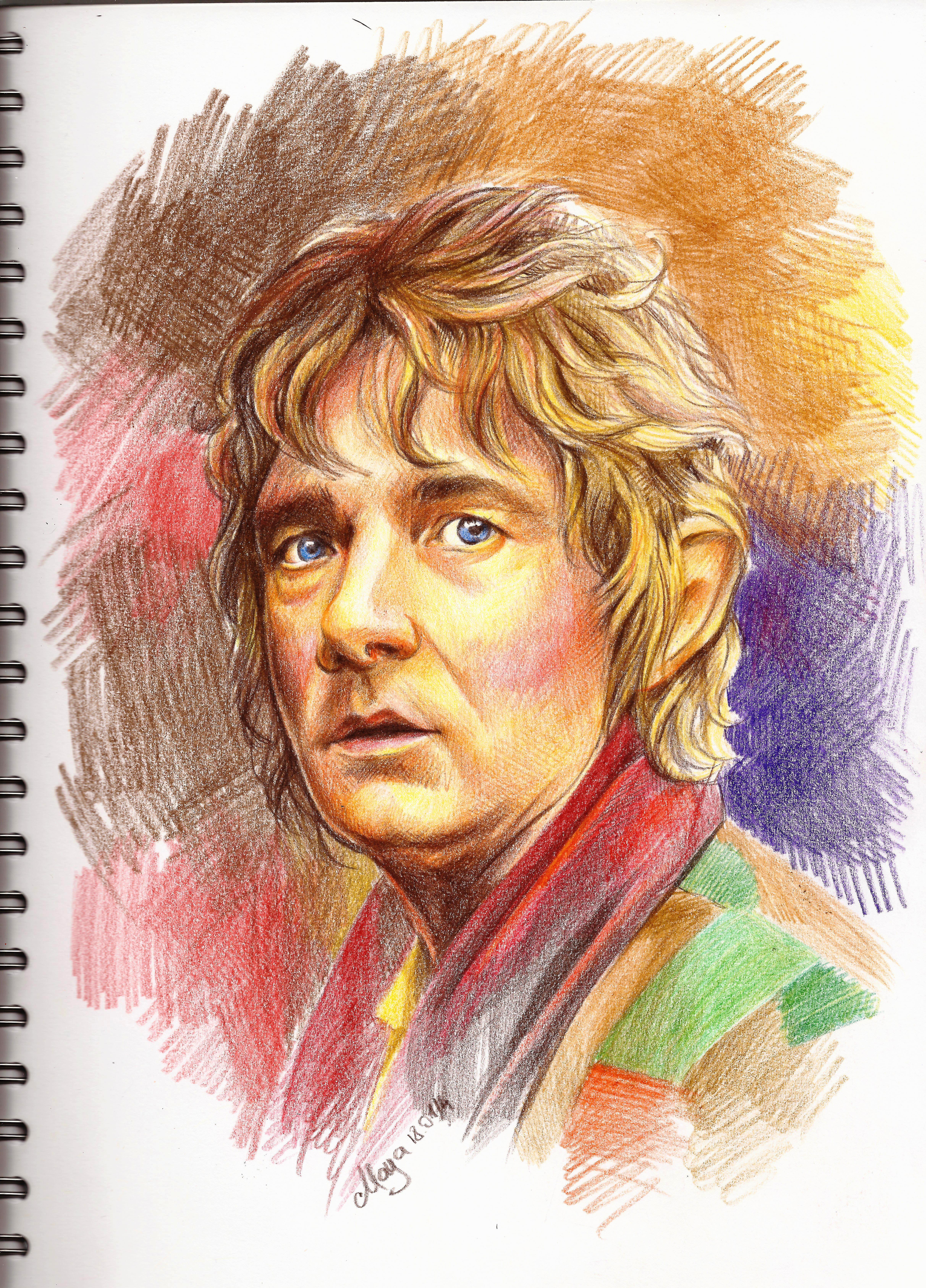Bilbo Beggins by maya-Notliketheother
