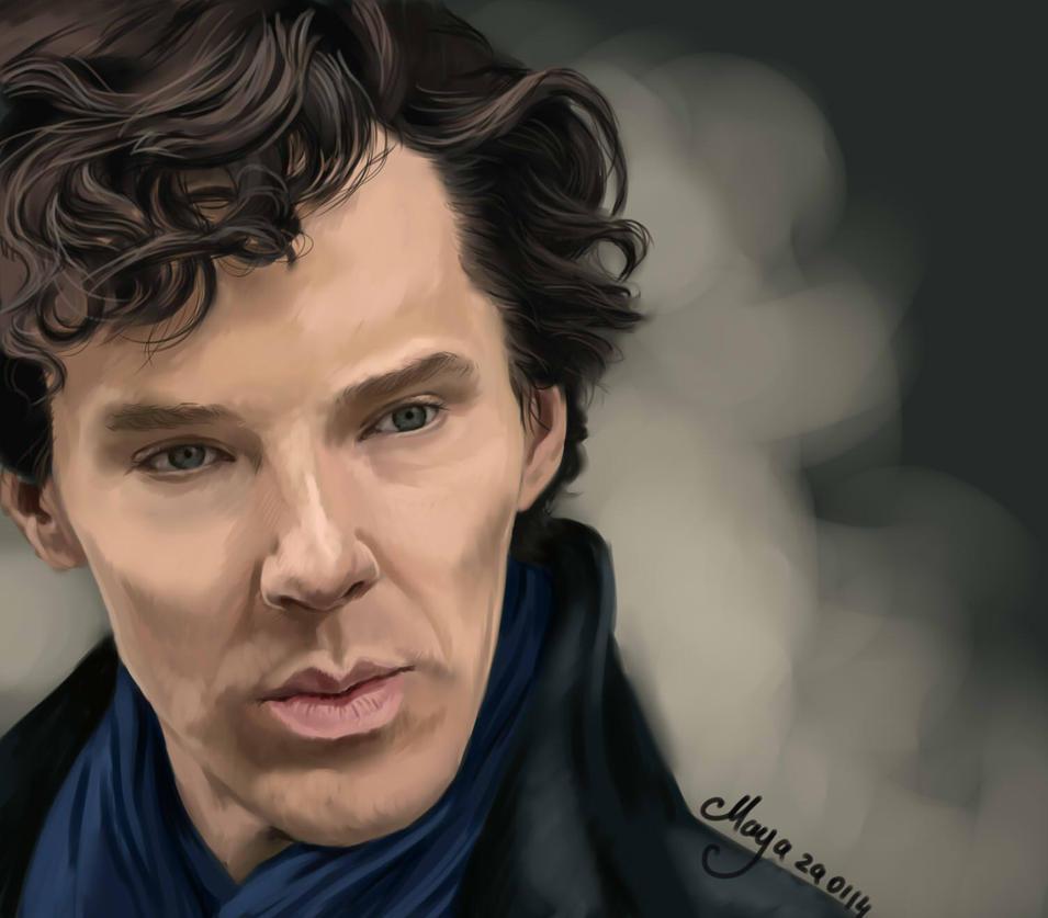 Sherlock by maya-Notliketheother