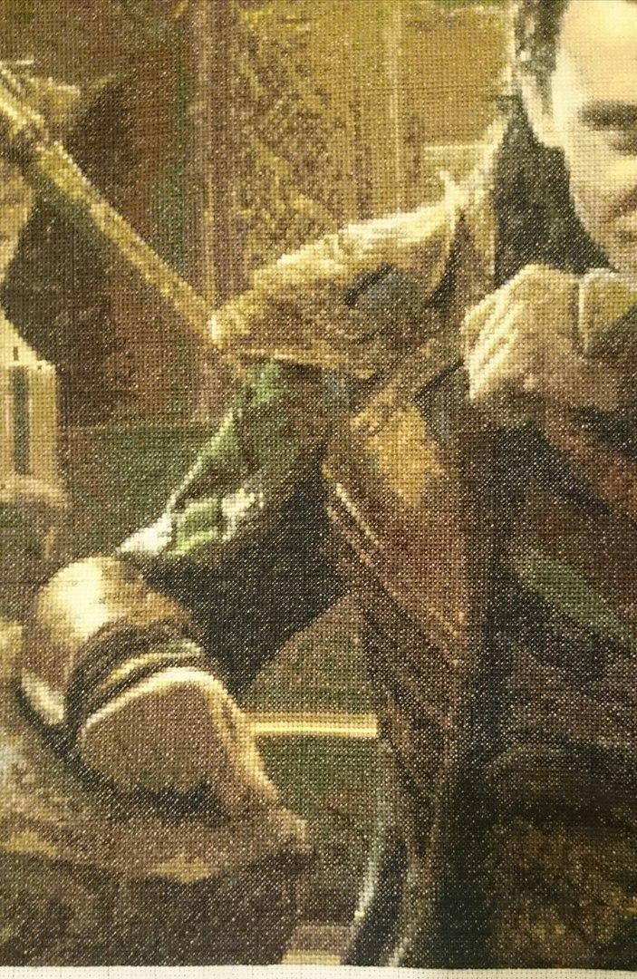 Loki embroidery details by maya-Notliketheother
