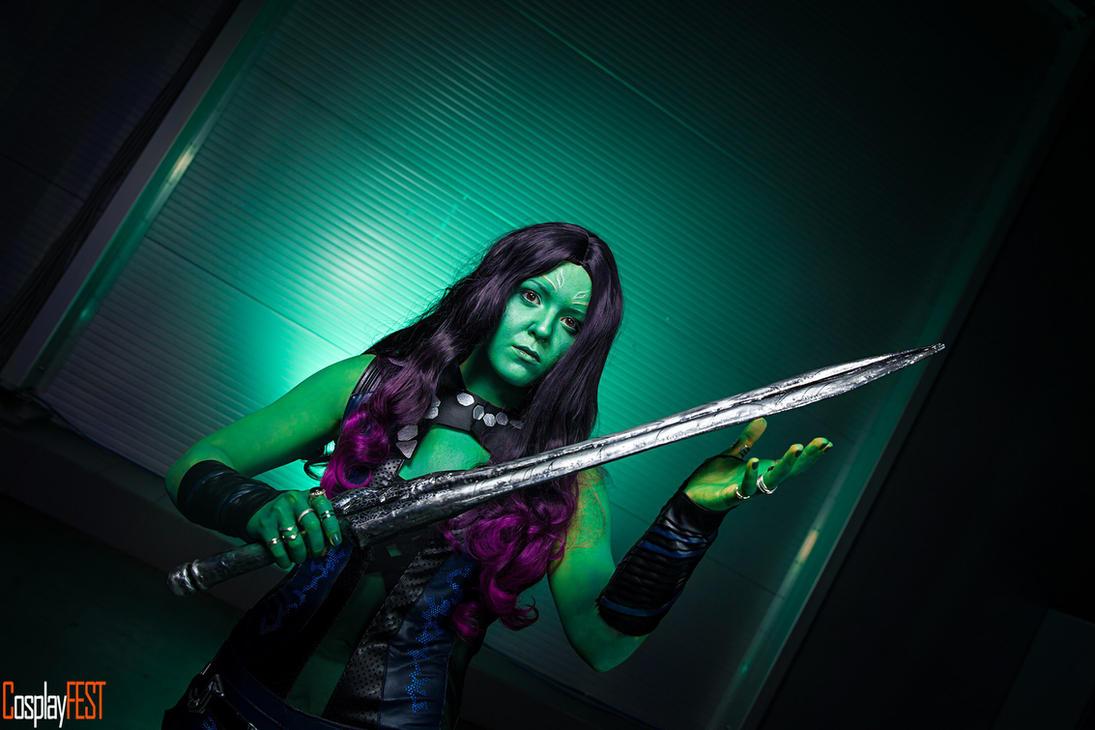 Gamora cosplay 2 by maya-Notliketheother