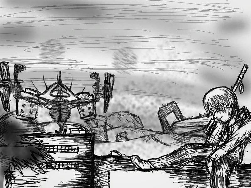 FREEDOM WARS FANART by SilentKidde