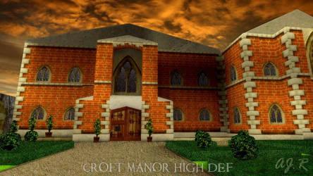 Tomb Raider 2 - Croft Manor HD Remaster Edit