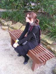 Mary Poppins On A Bench 00 by TwinkiexStocks