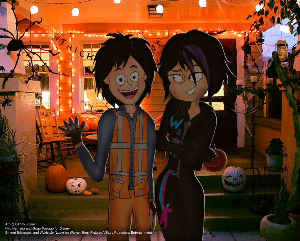 Hiro And Gogo Fanart Hiro and Gogo as Emmet...