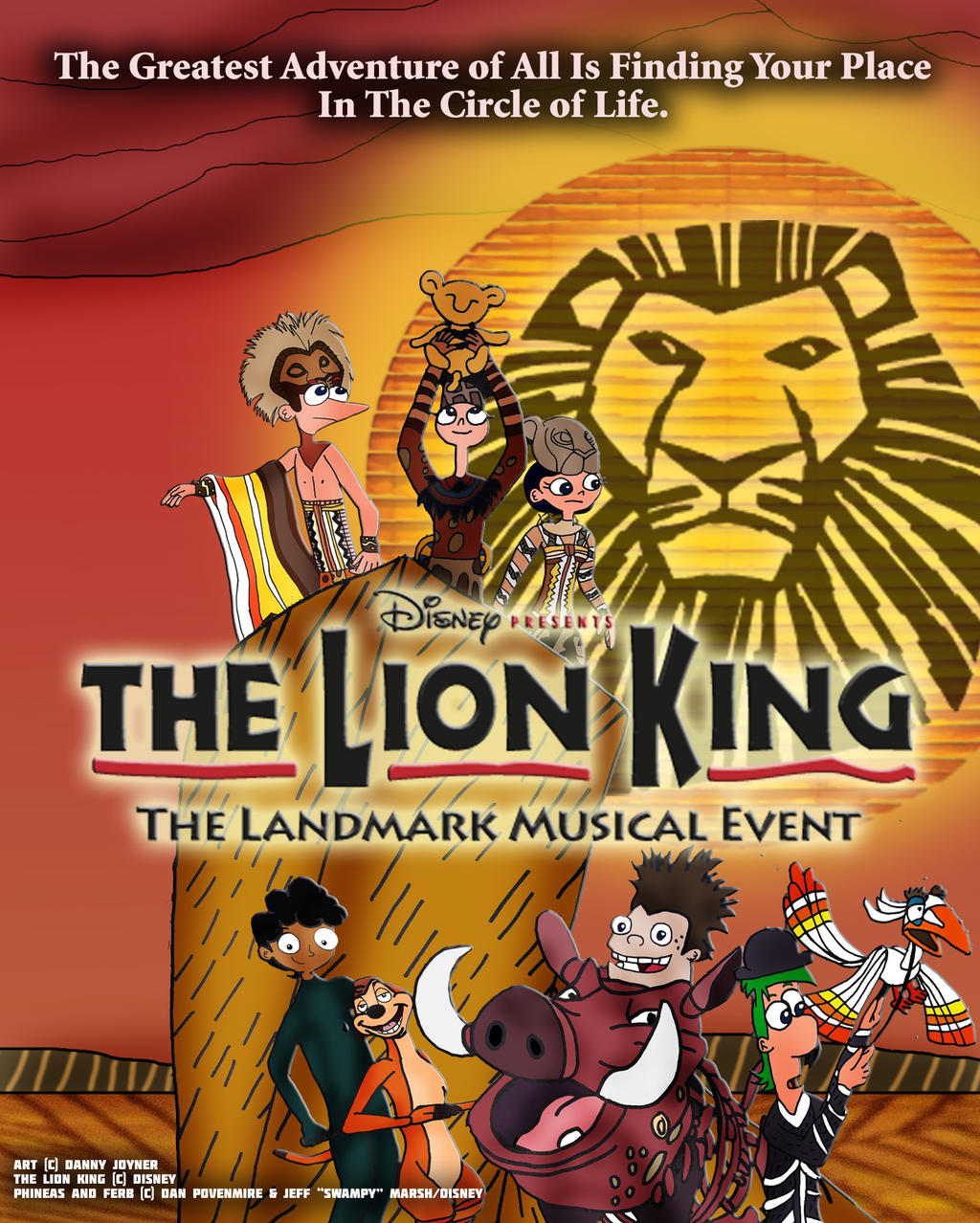 Pnf In Disney S The Lion King On Broadway Poster By Rdj1995 On Deviantart