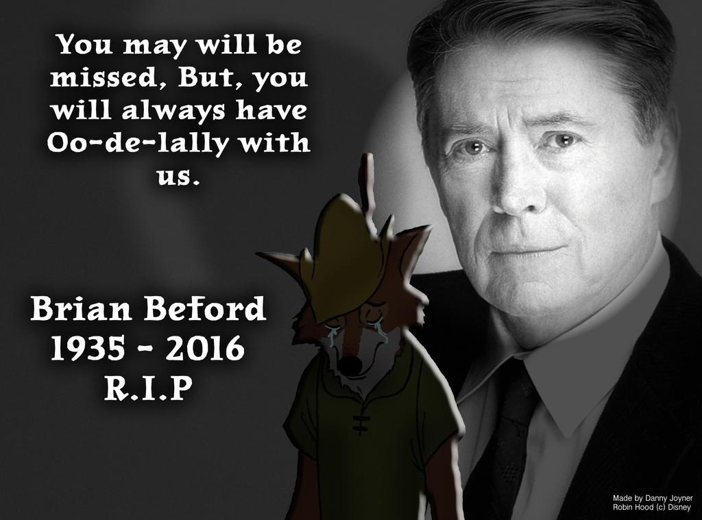 brian bedford died