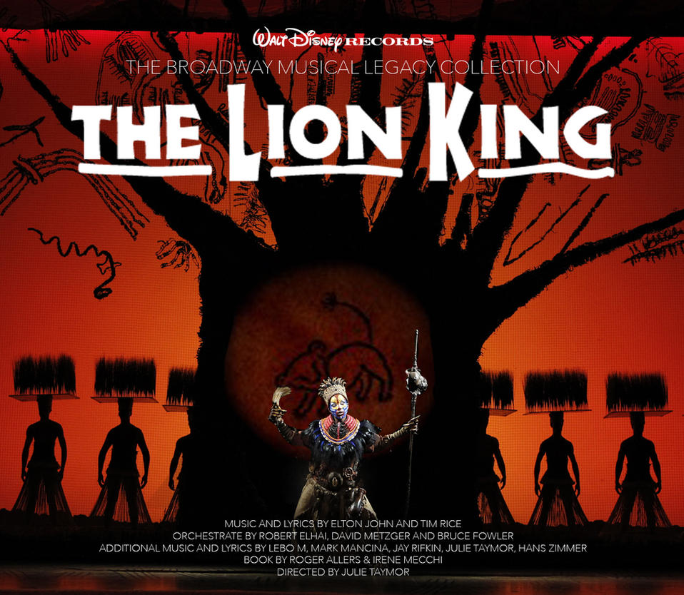 The Lion King Broadway Musical Legacy Collection By