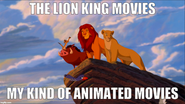 The Lion King Movies Meme by RDJ1995