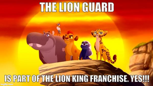 The Lion Guard Meme by RDJ1995
