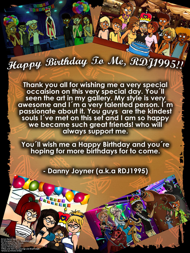 My 22 Years of Being Me by RDJ1995