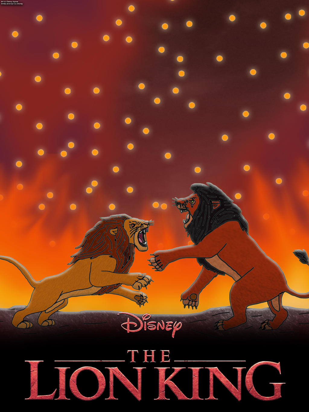 The Lion King 2019 Poster The Final Battle By Rdj1995 On