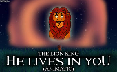 The Lion King - He Lives In You (Title Card) by RDJ1995
