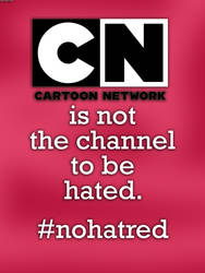 No More Hatred on Cartoon Network by RDJ1995
