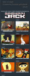 Top 10 Best Samurai Jack Moments by RDJ1995