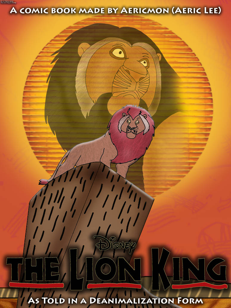 The Lion King On Broadway Deanimalization Cover By Rdj1995 On Deviantart