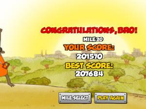 OHHHHHH!!!! I beat Ride 'Em Rigby!!