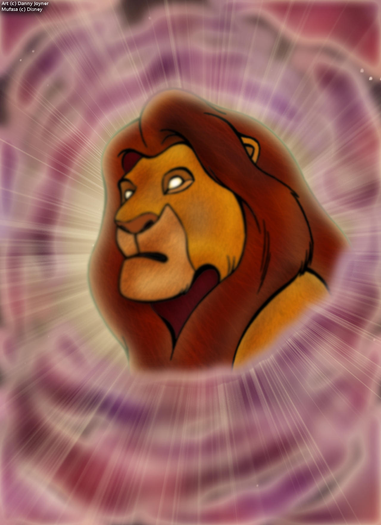Coloring Book Challenge - Mufasa's Ghost