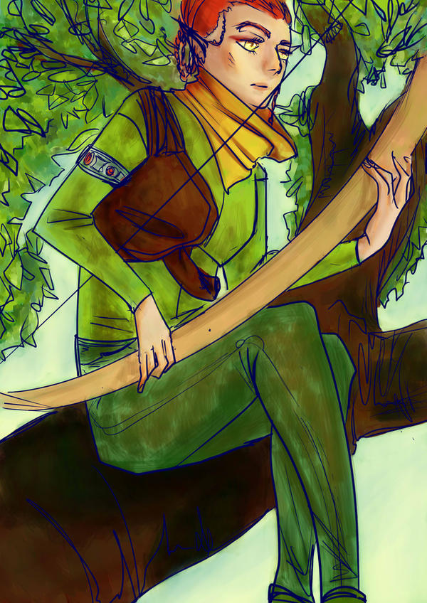 Wood.elf From The elder scrolls by TOMIRI94