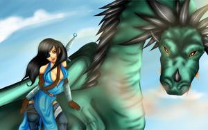Dragon by cl-em